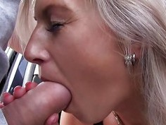 Mofos  Hot blonde sucks dick for a lift