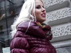 Mofos  Hot blonde Euro babe loves cock