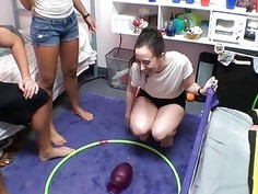 Dorm room party with college teens turns into wild sex