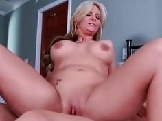 Pure mature Phoenix Marie passionate fucking