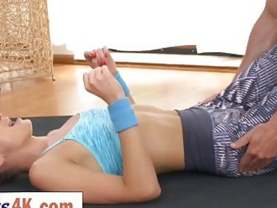 Young Fitness Freak Ivana Sugar Gets Fucked By Workout Partner George