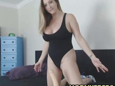 Raiding Man Torso And Bouncing Big Fake Tits