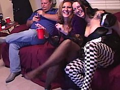 Pantyhose party