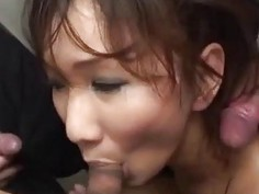 Asami fucked in public and made to swallow