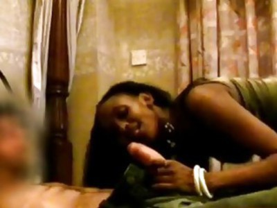 African Ebony Teen Blowjob Riding Cock Interracial