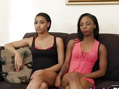 Amateur black lesbians sure about hitting the
