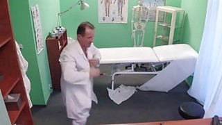 Doctor fucks patient after his nurse in fake hospital