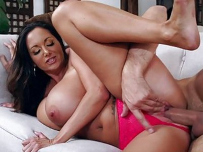 Ava Addams rides Keiran Lees cock on top