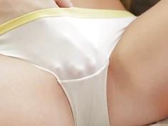 Sexy girl licks on studs long wang zealously