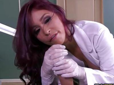 Monique Alexander blowjob her patient