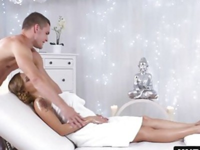 Blonde Katarina Muti Massage Big Tits Fucking Footjob