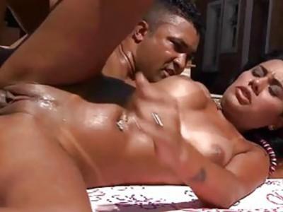 来自巴西的天使的性感锤击