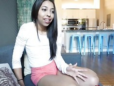 Jasmine Summers first timers blowjob not bad at all