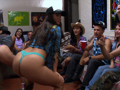 Wild and naughty college party