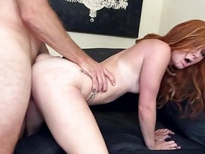 Powerful cock acquires sucked with excitement