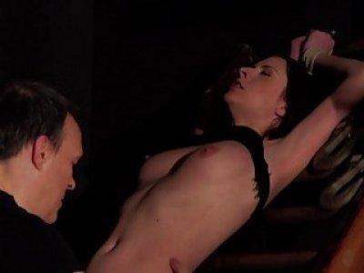 BDSM Hardcore打屁股性奴隶吞与性