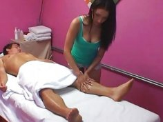 Concupiscent massage therapist adores lechery