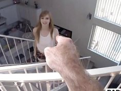 Step Daughter Dolly Leigh Gives Head And Bangs