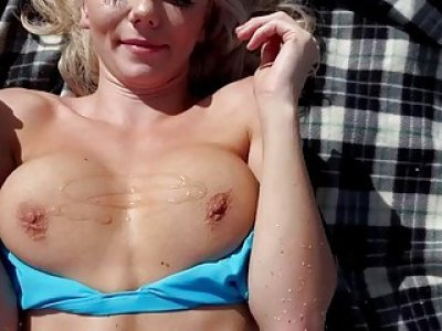 Charming Molly Mae takes a heated fuck in the beach