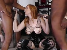 BBC Anal with Lauren Phillips  Cuckold Session