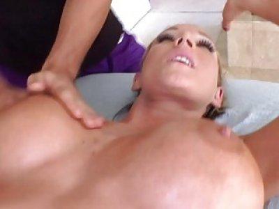 Angel asks for a massage