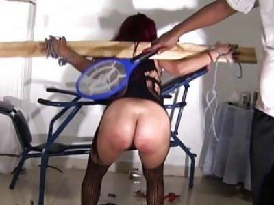 Latina bdsm and electro shock fetish of tortured s