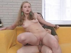 Sexy posing for a reality clip scene