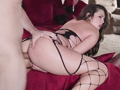 Hot anal fuck with sexy wife Allie Haze
