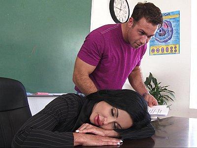 Double duty teacher
