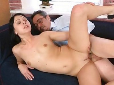 Hardcore lesson with sexy hottie