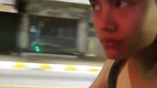 Asian Slut Seduced To Suck And Ride Long Cock