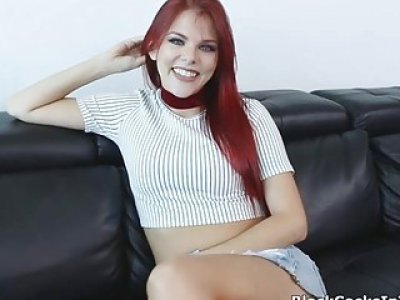BBC deep in redheads pussy