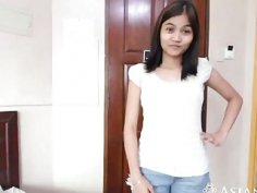 Young and playful Asian babe will do anything to pleasure her lover