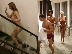 Naughty women and nasty dudes have fun