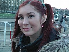 Redhead off the streets