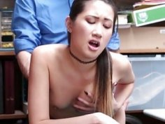 Hot Asian thief Jade learns her lesson