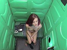 Redhead's gloryhole adventure