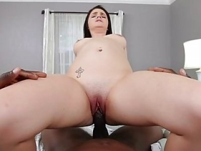Offering snatch in a pov scene