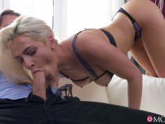 Nicole Vice gets shagged like a doggy in heat by her hubby