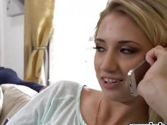 Blonde Teen Sierra Nicole Riding Long Schlong