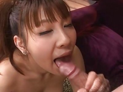 Love melons fondling and fingering for oriental