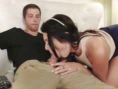 Tight teen babe Megan Sage banged by her pervert stepbro