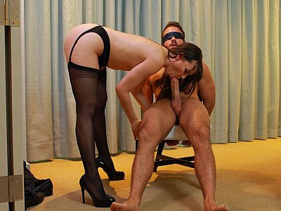 Tied and helpless
