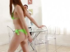 Hot Green Bikini of Alexa Nova Got Her Laid Big Time