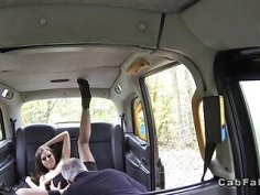 Babe gets anal sex on the bonnet