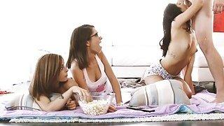 Cutie hot chick Lili Gina and Joseline wants it deep