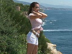 Scenic stripping scene