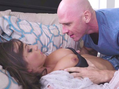 Abigail Mac caught by Johnny Sins playing with the vibrator