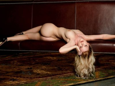 Young beautiful bombshell stripping for her first time