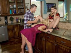 The sexy stepmom initiate the fun